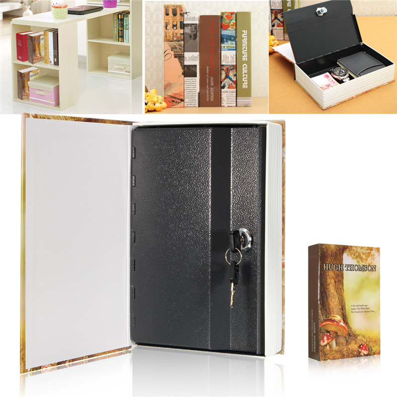 Jewellery Key Locker For Kid Gift Mini Safe Box Book Money Hidden Secret Security Safe Lock Cash Money Coin Storage
