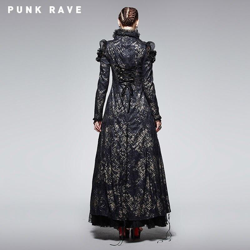 Veste Visual Manteau Fantaisie Velours Victorien Gothique Steampunk Y567 Kei Xs Longue Punk Rave Femelle xxl YqxAvx0