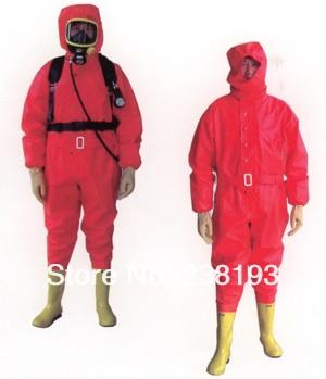 Luz siameses trajes químicos ácido químico de gas de amoníaco de la guerra  química trajes de gases nocivos rescate ropa fábrica en Ropa de seguridad  de ... 3a088a91403