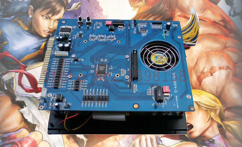 2019  in 1 multigame board  Jamma PCB  Arcade game board/ 40G HDD, 2.4G cpu, classical game  VGA/CGA output  machine mainboard replace upper board of 2019 in 1 game board upper jamma board for 2019 game family multi games board 2019 in 1 pcb spare parts