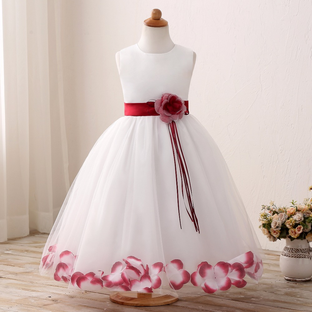 Christening Baby Flower Princess Dress for Wedding Formal Wear Girl Clothing Kids Dresses Girls Clothes Children Size 6 7 8 9 10 free shipping direct heat ps4 stencils 0 4mm 0 55mm solder ball bga reballing stencils