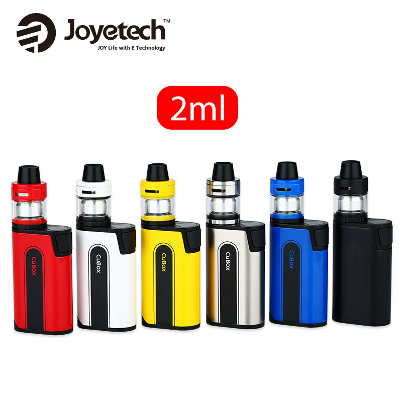 D'origine Joyetech CuBox Kit W/3000 mAh Cubox Batterie Mod & 2 ml CUBIS 2 Atomiseur Réservoir VS Joyetech CuBox MOD Batterie Dense Smok Kit