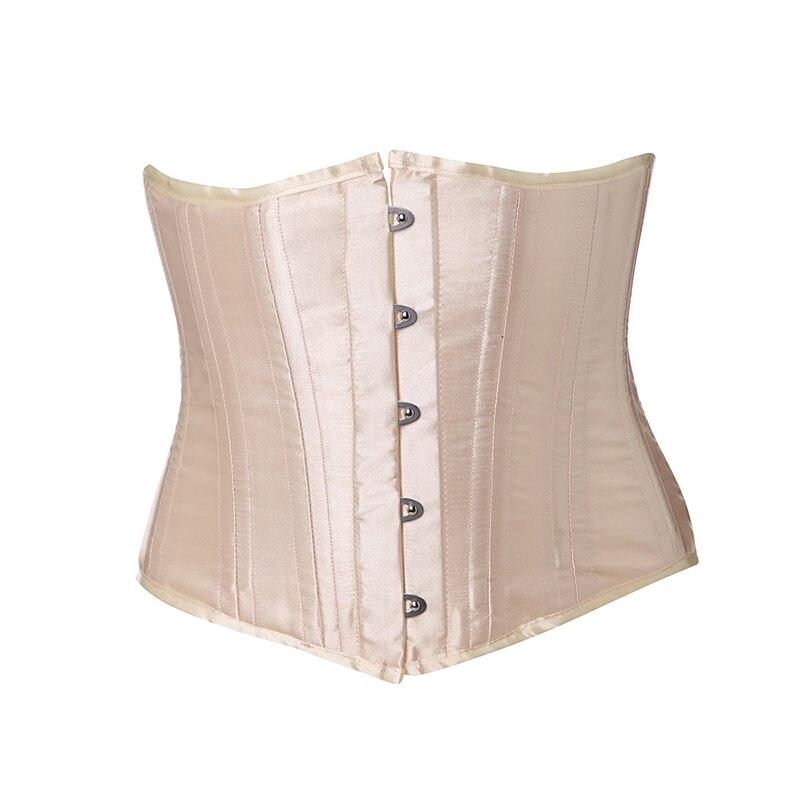 ceab69de0 Moonight 24 huesos de acero cintura corsé cintura todos los días cincher  adelgazamiento shapewear