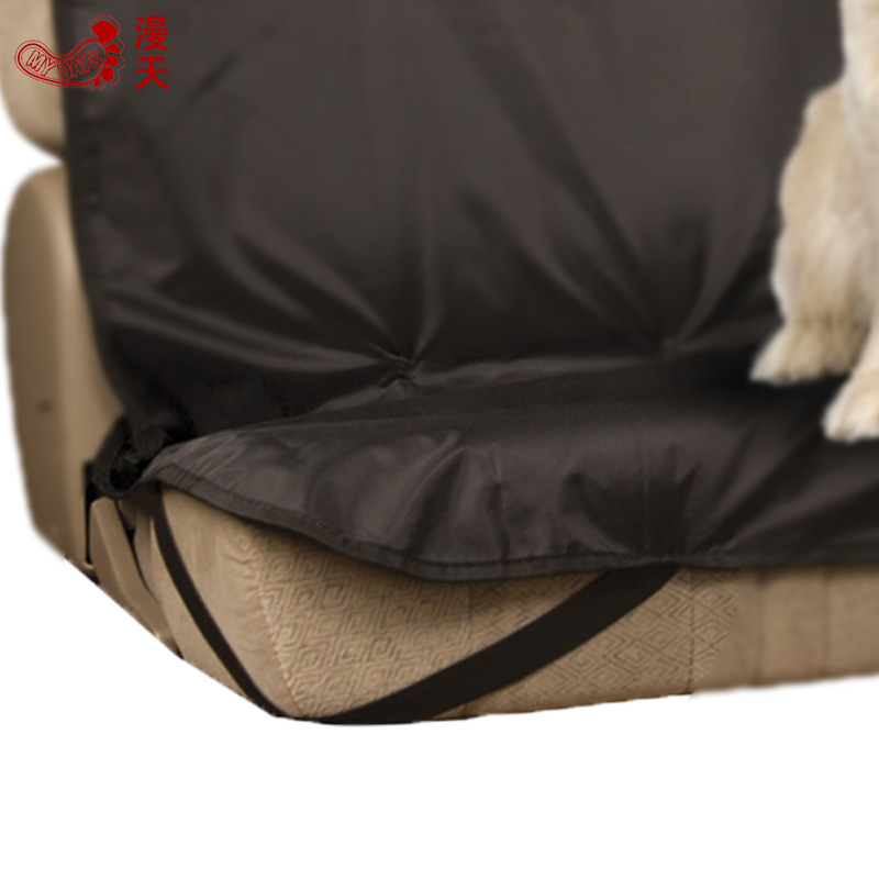 MDSTOP Cheap Black Red Dog Car Rear Seat Protector Waterproof Travel Cat Pet Carrier Cushion Mat Truck Suv Bench Seat Cover