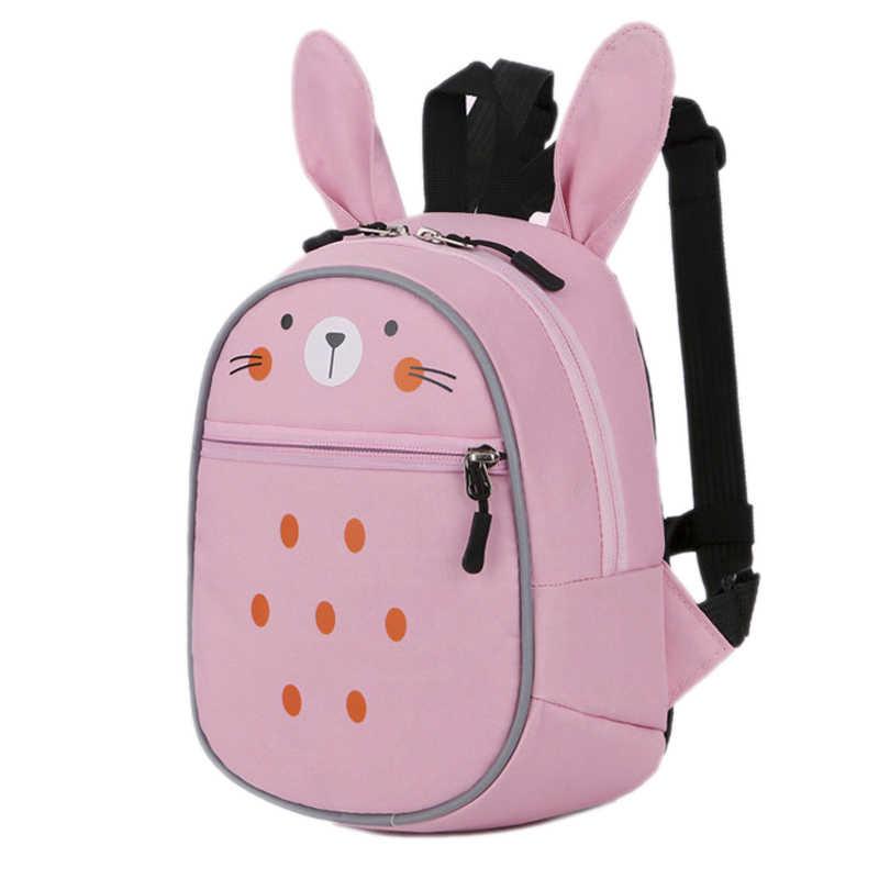 876eb79bcfb1 2018 новые анти-потерянные рюкзаки для девочек мальчиков детская маленькая сумка  легкие Мультяшные школьные сумки