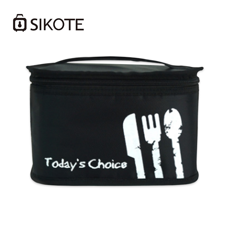 SIKOTE Oxford Cooler Bags Thicken Fresh Keeping Waterproof Lunch Bag Cooler Bag For Steak Insulation Insulation Ice Pack