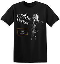 Charlie Parker T Shirt Fresco Nuovo Nero Retro Unisex Jazz Band Tee 4-A-016  Stampati Personalizzati Magliette e camicette Pantal. 9680314c9d4b