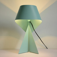 Nordic Personality Cartoon Table Lamp Creative Art Origami Table Lights Designer Living Room Hotel Light Free Shipping