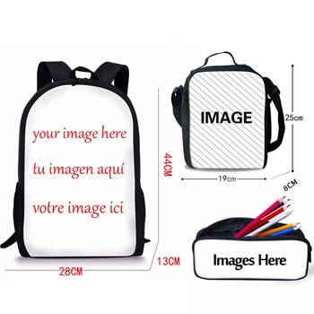 крутой мальчик рюкзаки | Детские ортопедические школьные сумки с цветным животным принтом, школьный рюкзак с динозавром, комплект из 3 предметов, сумка для мальчико...