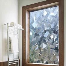 Витражное окно 3d пленка прозрачная тонировка icicles Виниловая