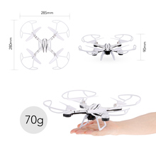 Utoghter 69309-1 2.4G 6 Axis Gyro 3D Flip Wifi FPV 720P Camera Headless Altitude Hold RC Quadcopter Stable Flight Helicopter