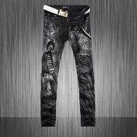 Hot New Automne D'été 2015 Hommes Peints jeans Hommes Camouflage Pantalon Mince pantalon Livraison gratuite