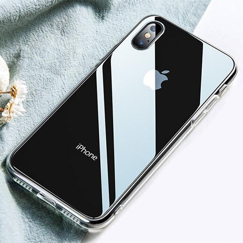Rouge à lèvres de charme Doux Coque en silicone Pour Coque iPhone X XR XS Max Clair TPU étui pour iPhone 7 étui pour iPhone 8 7 6 6 S plus 5 5 S SE 4 S