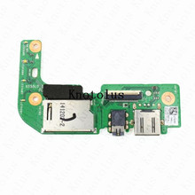 X555LD_IO BOARD For asus X555L X555LD USB AUDIO CARD READER BOARD цена