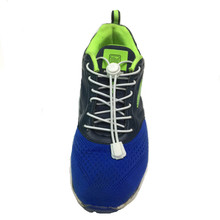 New Arrival High Quality No Tie Colorful Locking Shoelaces Sneaker Elastic Shoelace Shoestrings Running Fitness Free Shipping