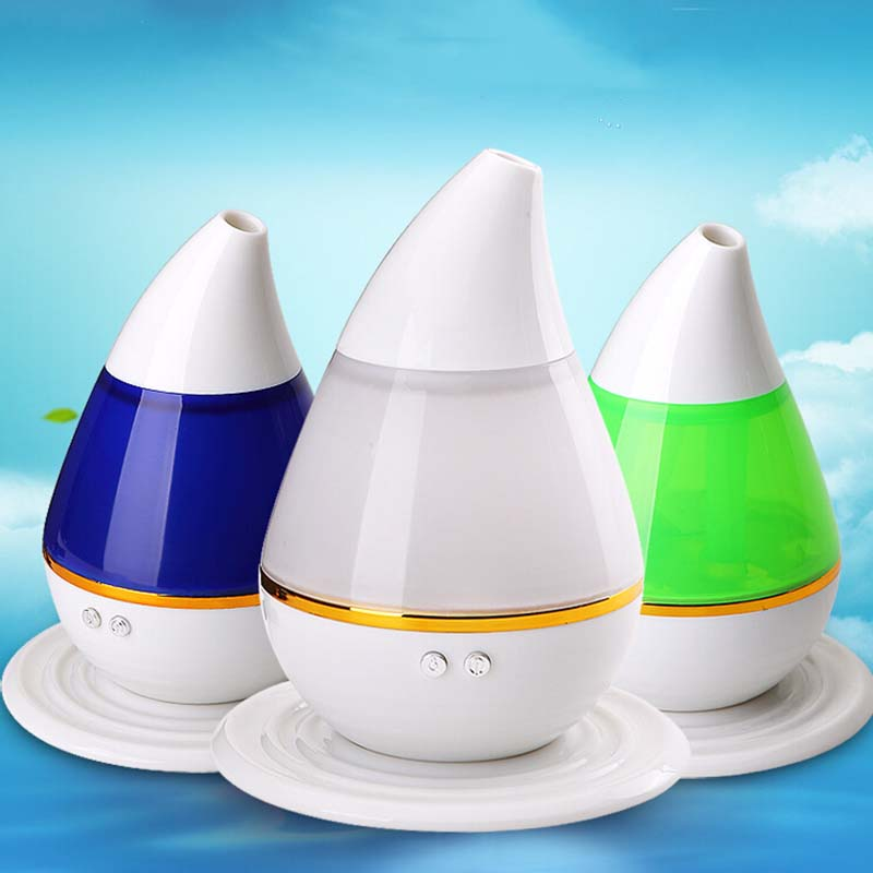 LED Ultrasonic Humidifier Usb Humidifier Car Aromatherapy Essential Oil Diffuser Atomizer Air Purifier Mist Maker Fogger