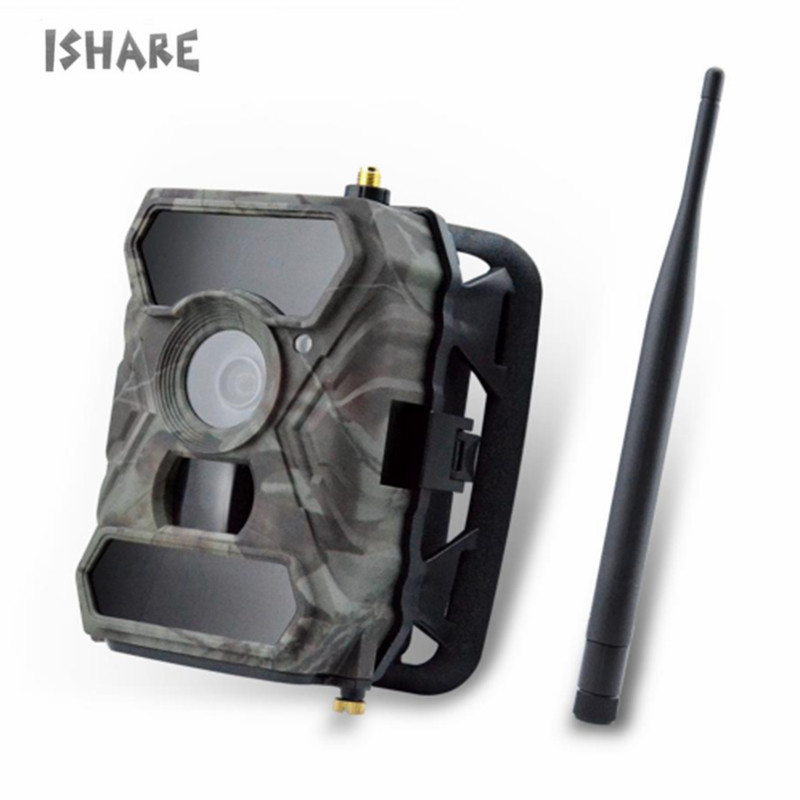 Hunting Camera Wireless Trail Commander 3G 1080p HD Cellular Trail Camera 12 MP Wide Angle Infrared Night Vision Trail Camera 3g hunting trail camera with metal safety box and solar charger