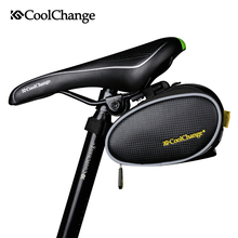 CoolChange Bike Bag Waterproof Saddle Bicycle Rear Bags Reflective MTB Mountain/Road Cycling Rear Bag Seat Tail Accessories