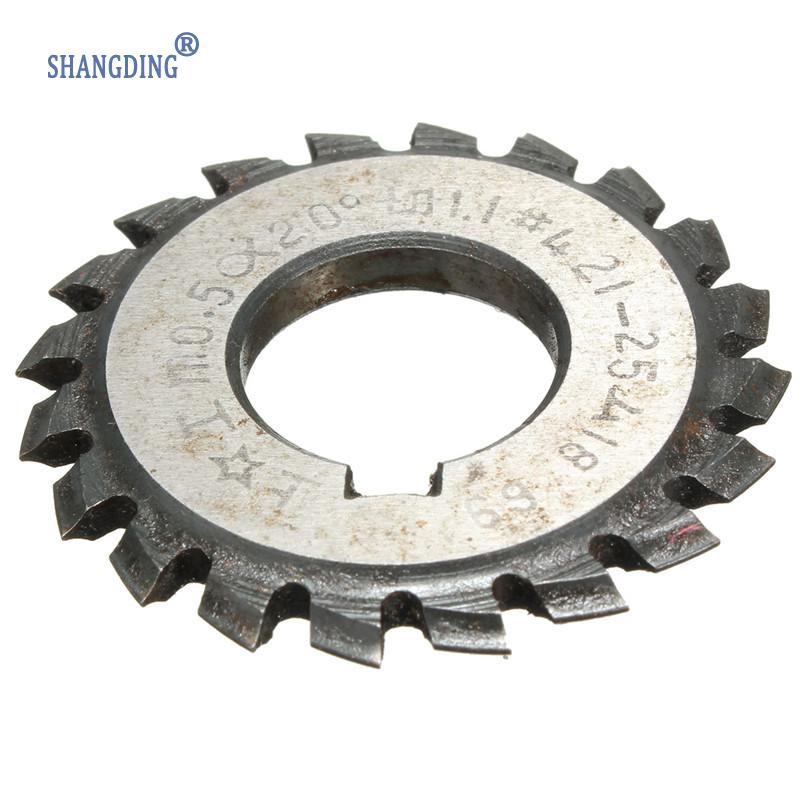 DIY Diameter 22mm M0.5 20 Degree #4 Involute Gear Cutters HSS High Speed Steel Module HOT Machine Tools Accessories