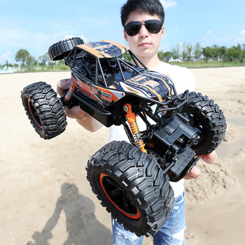 LOZ RC Car 2.4G 1:14 Scale Rock Crawler Car Supersonic Monster Truck Off-Road Vehicle Buggy Electronic Toy rc car original jjrc h37 rc drones mini baby elfie 4ch 6 axis gyro dron foldable wifi rc drone quadcopter hd camera g sensor helicopter