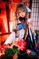 Аниме Vocaloid Vsinger Luotianyi Косплэй Костюм Древний костюм красивое платье