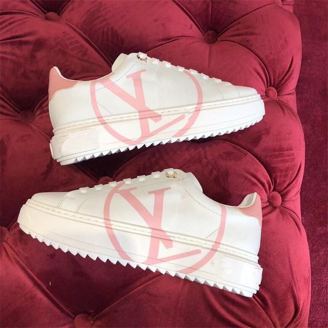 1 De Luxe Automne 3 Nouvelle Printemps 2 Femmes Conception Dames 2019 Marque Chaussures Et Mode Tendance Plates Casual wSxT4YBq
