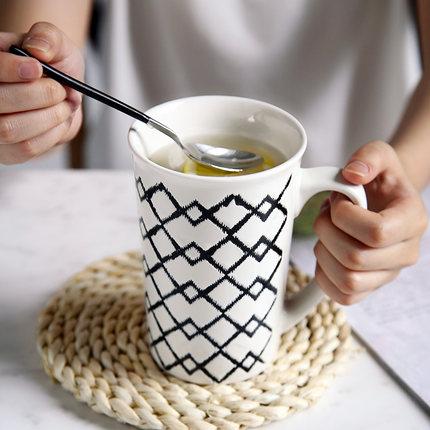 500MLCoffee Mug creative office tea cup breakfast milk lovers cup