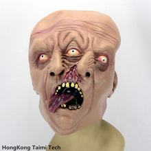 Double Head Face Halloween Monster Scary Mask Latex Devil masks masquerade party silicone Horror Zombie Terror