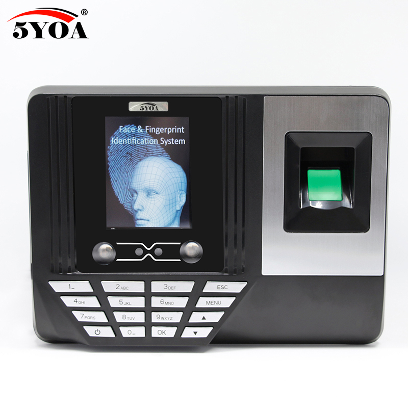 5YOA BF3 Biometric Face Facial Recognition Time Attendance System Machine Device