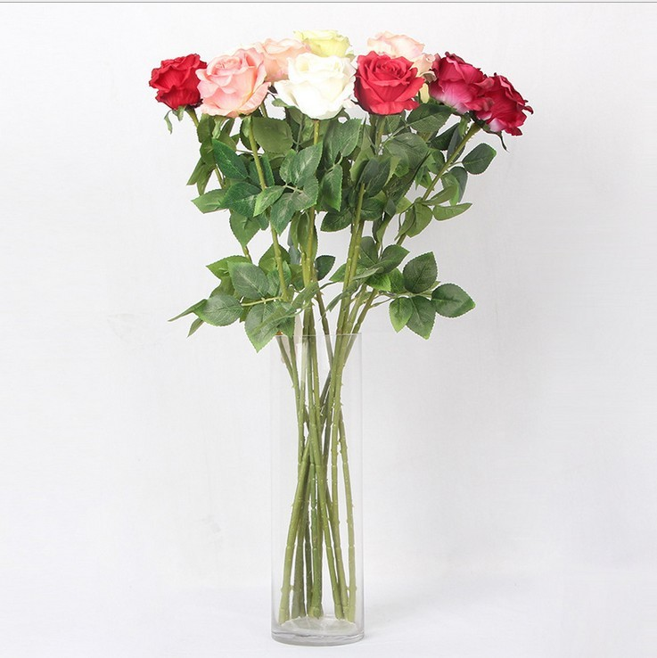 Artificial Fresh Rose Flowers Real Touch Rose Flower Home Decorations For Wedding Party Or Birthday Wedding Decoration Flower Medical & Mobility