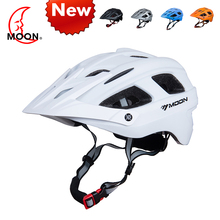 2018 Moon NEW Style MTB adult helmet sports HOT SELLING HIGH QUALITY IN-Mold BICYCLE PC EPS Mountain Bike Cycling HELMET