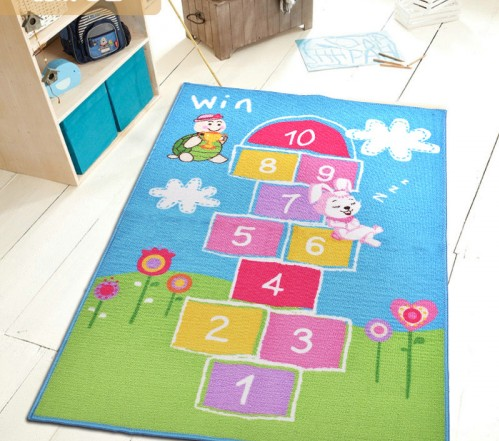 Charming Kids Rug Baby Room Carpet Blue Sky Printed Fairy Girls Rugs And Carpets  Cute Cartoon Childrenu0027s Rugs Kids Living Room Rugs