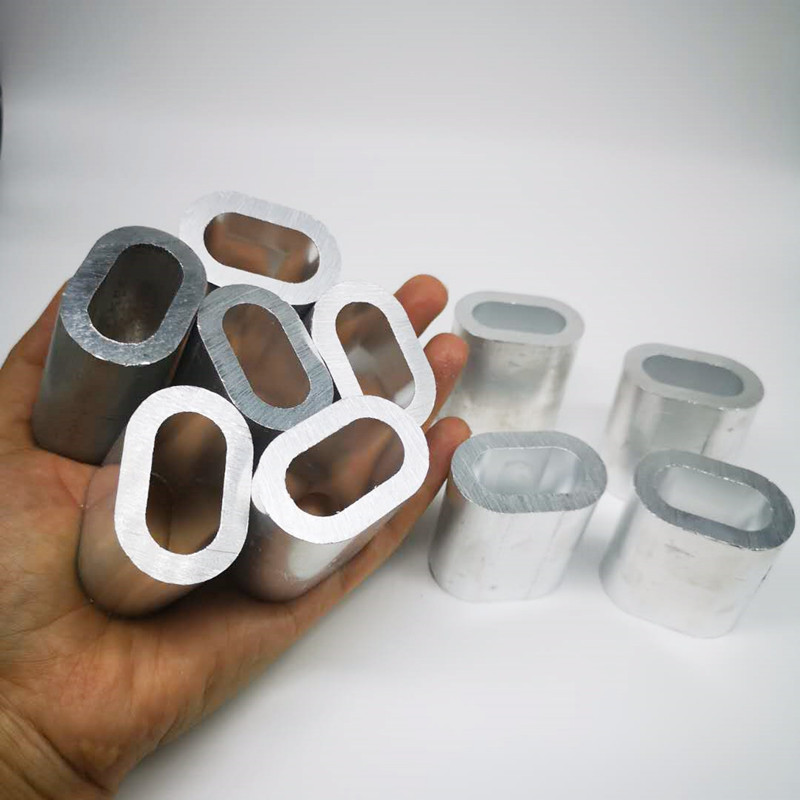 10pcs Pack 14mm Single Aluminum Sleeves For Rigging Trace Leader Crimps