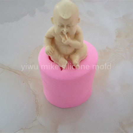 factory shop ,baby design cake or soap silicone t mold for cake decorating tools mk-272