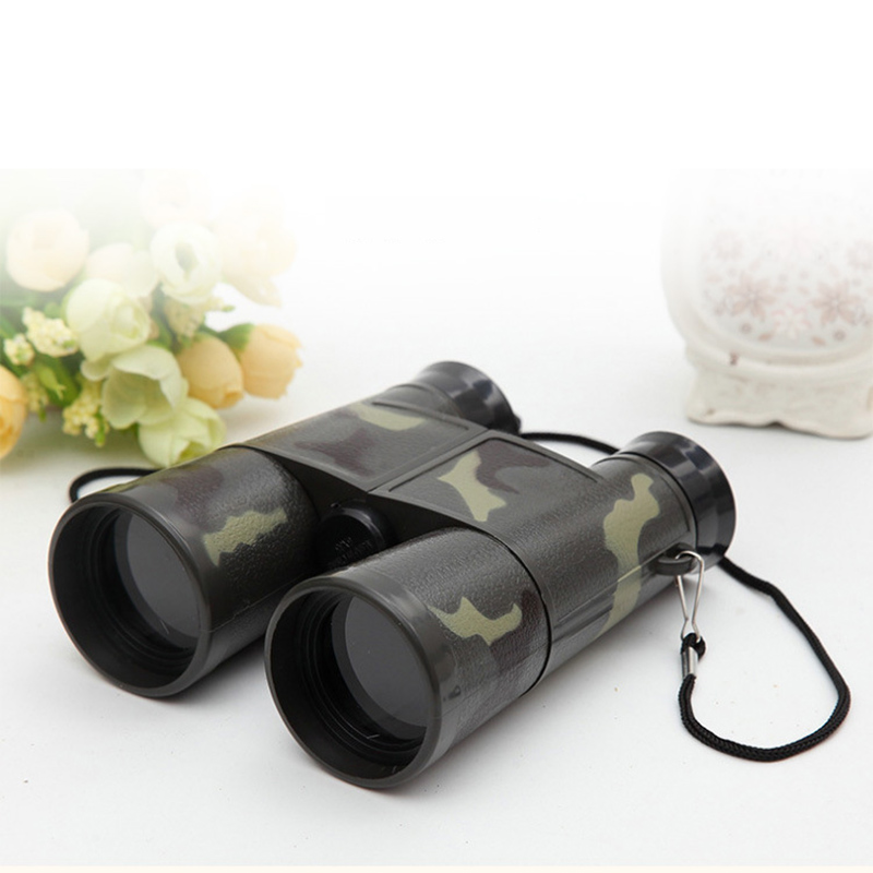 13 X11.5x 5cm Plastic Simulation Camouflage Children Kids Toys Mini Portable Folding Binoculars Toy Outdoor Camouflage Toys