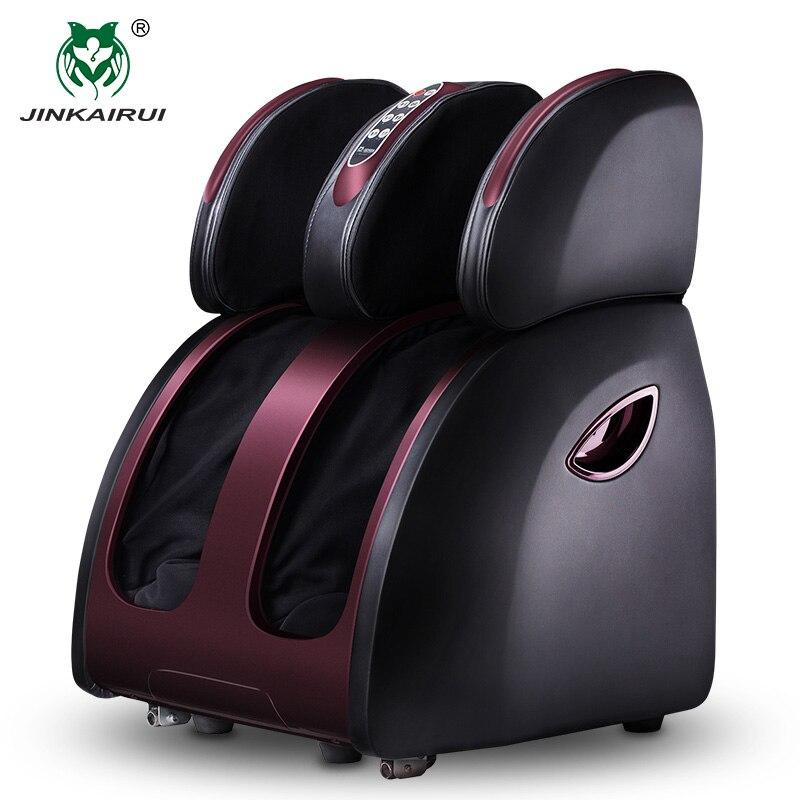 JinKaiRui électrique vibrant masseur de pieds infrarouge chauffage genou jambe mollet cuisse dispositif de Massage pression d'air Massage soulagement de la douleur