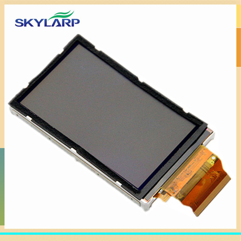 skylarpu 3 inch LCD panel For GARMIN OREGON 450 450t Handheld GPS LCD screen display (without touch) skylarpu 2 2 inch lcd screen module replacement for lq022b8ud05 lq022b8ud04 for garmin gps without touch