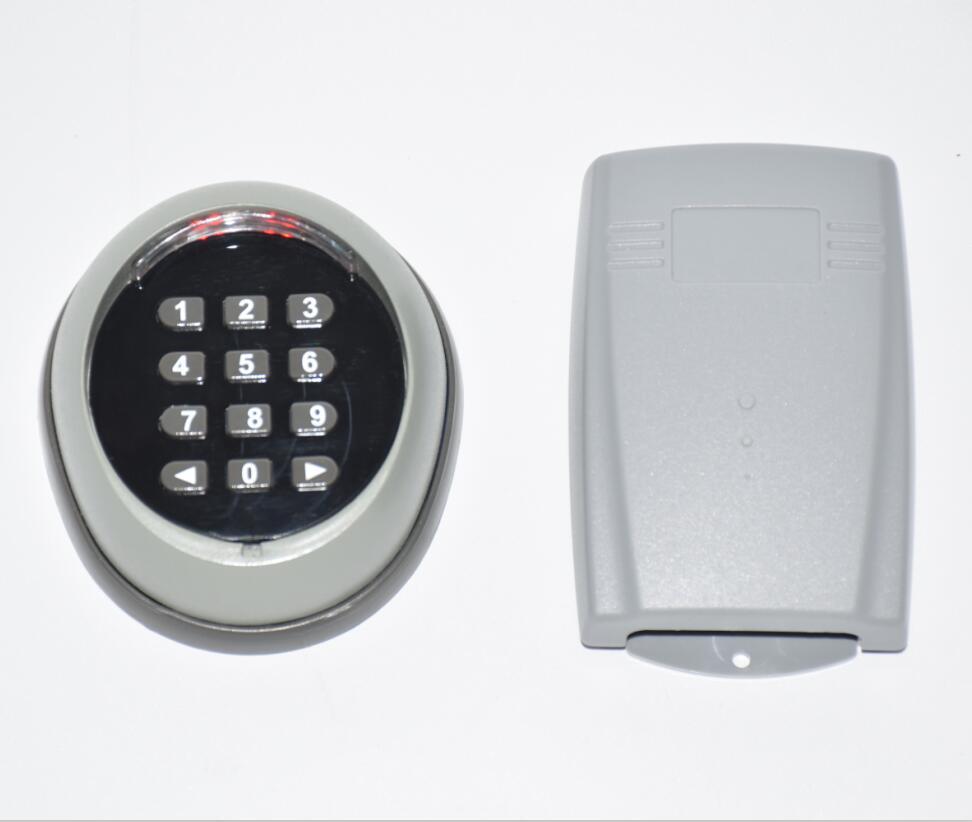 LPSECURITY 433 МГц Беспроводная настенная клавиатура для гаража/качели/раздвижные ворота открывалка/беспроводной кнопочный переключатель с приемником