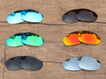 PV POLARIZED Replacement Lenses for Oakley Juliet Sunglasses - Multiple Options