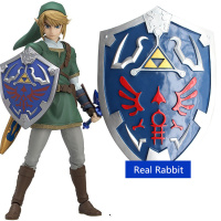 [Best] 1:1 55cm simulation The Legend of Zelda Link Hylian Shield resin weapons model adult child cosplay toys collection gift