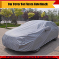 Coche nieve dom resistente a la lluvia Protector de la cubierta Anti UV sombrilla ropa Car Styling cala inoxidables para Fiesta Hatchback