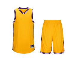 Team Basketball Jersey Suit for Men Sports Suits Logo Custom 6 Colors