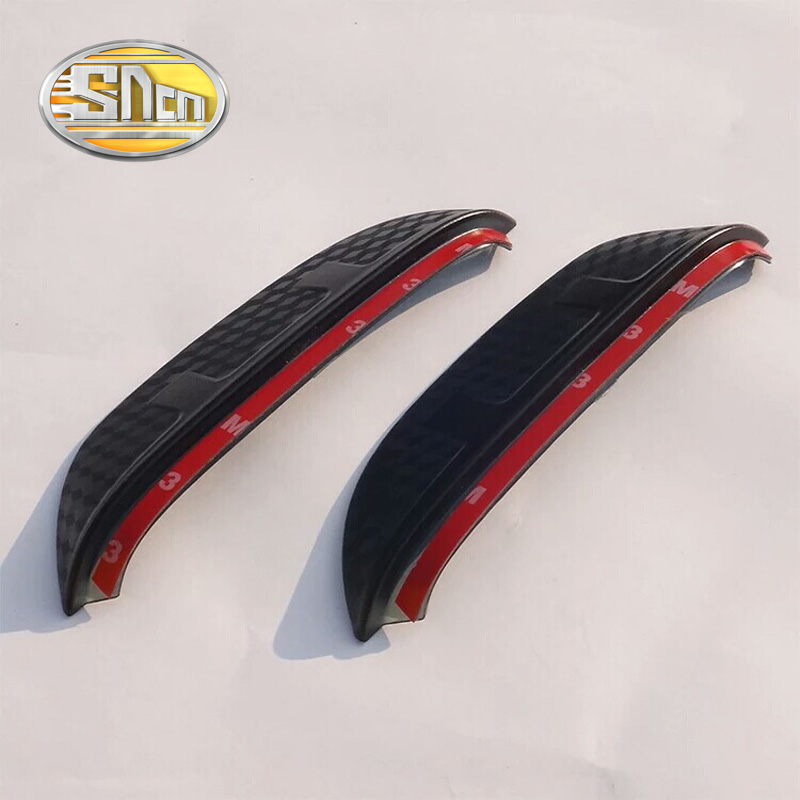 SNCN 2PCS Car Rearview Mirror Eyebrow Cover Rain-proof Snow Protection Decoration Accessories For Honda HRV HR-V Vezel 2015 2016 sncn 2pcs car rearview mirror eyebrow cover rain proof snow protection decoration accessories for toyota c hr chr 2016 2017