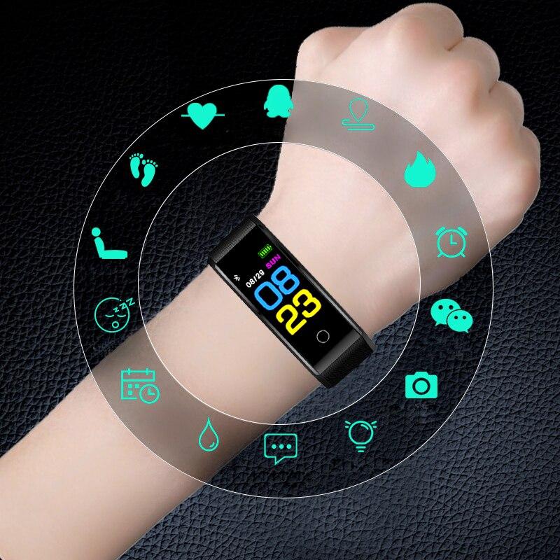 Bracelet Smart Watch Men Sport Electronic Wristwatch LED Digital Wrist Watches For Men Clock Male Hour Smartwatch Hodinky Relog