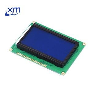 Image 1 - 10pcs LCD 12864 128x64 Dots Graphic Blu Display Retroilluminato A Colori LCD Shield 5.0V