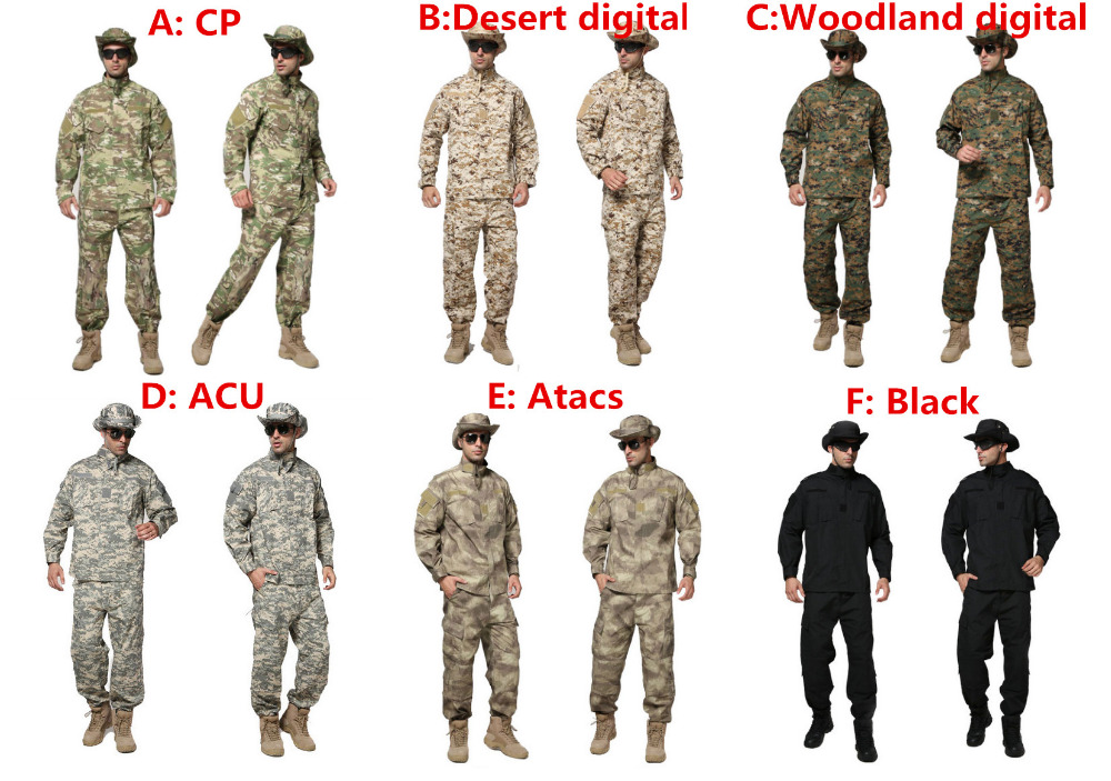Military Clothing German Camouflage Clothes Uniform Combat