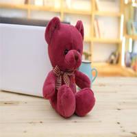 Çocuk Peluş Oyuncaklar Hayvanlar Moda Ayı 33 cm çocuk hediye için güzel peluş oyuncak ayı büyük peluş ayı Promosyon Hediyeler oyuncaklar