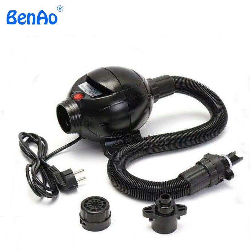 BA05 высокое Давление электрический насос высокого давлениа/воздуходувка для водный шар Зорб мяч/Палатка/воздухонепроницаемые раздувные иг