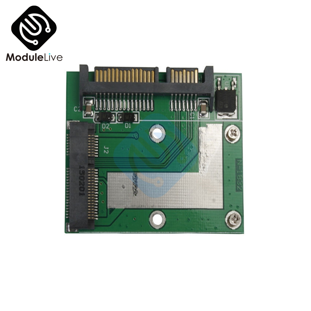 Universal Standard <font><b>Mini</b></font> <font><b>PCIE</b></font> mSATA SSD to 2.5 Inch SATA 6.0 <font><b>Gps</b></font> Adapter Converter Card Module Board For Laptop Desktop image