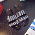 Discounts Brand Men Sandals 2016 Summer Fashion Beach Slippers Platform Mens Shoes Casual Slides Large Size 44 Flat With Sandals